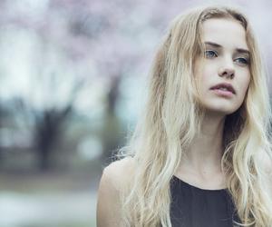 angel, eyes, and girl image