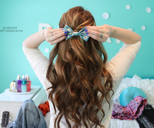bow, hair, and quality image