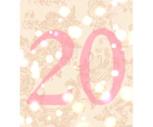 birthday, floral, and number image