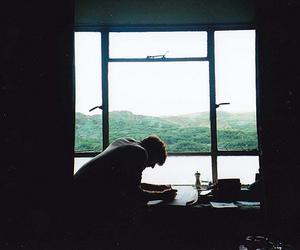 boy and window image