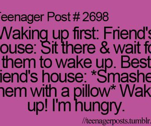 teenager post, best friends, and friends image