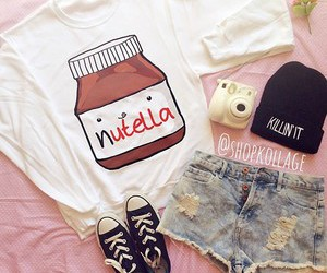 fashion, nutella, and beanie image