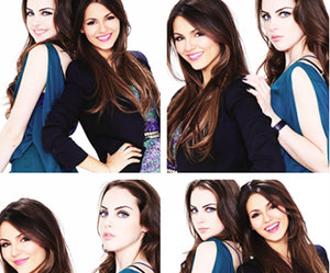 victoria justice, victorious, and liz gillies image