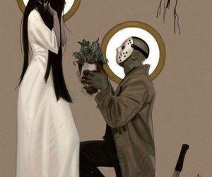 love, jason, and horror image