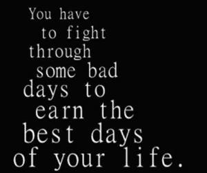 quote, life, and fight image