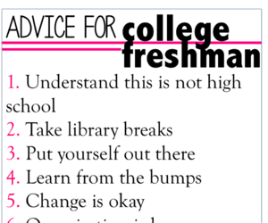 advice, college, and inspiration image