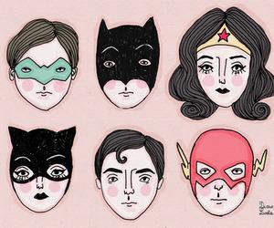 flash and superman image