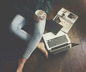 alone, coffee, and tumblr image