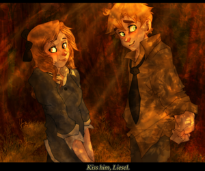 otp, the book thief, and liesel meminger image