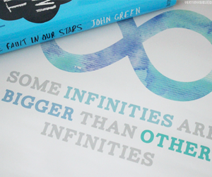 infinity, the fault in our stars, and tfios image