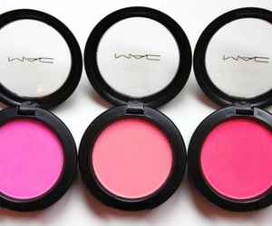 mac, pink, and blush image