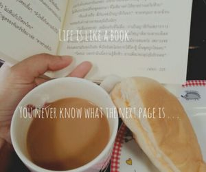 book, booklovers, and coffeelovers image