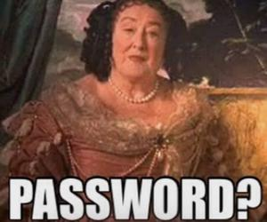 harry potter and password image