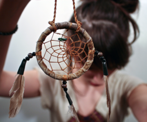 girl, dream catcher, and cute image