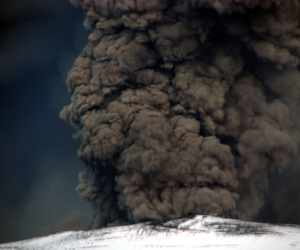 eruption, nature, and volcano image
