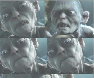 funny, lol, and gollum image