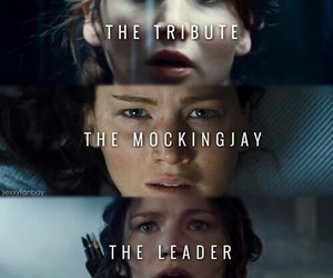katniss, tribute, and hunger games image
