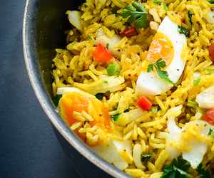 indian, rice, and spices image