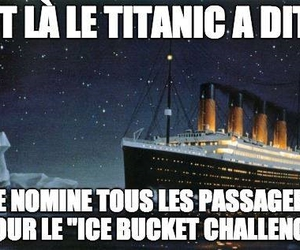 boat, funny, and iceberg image