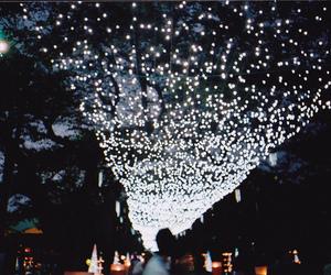 lights, night, and film image