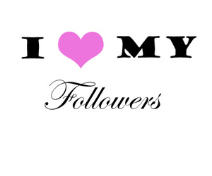 love, followers, and pink image