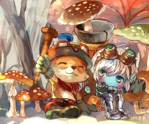 tristana, league of legends, and teemo image