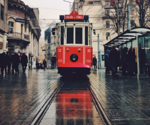 beautiful, rain, and city image