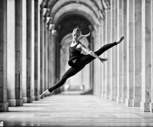 ballet, dance, and jump image