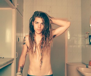 dread, grunge, and handsome image