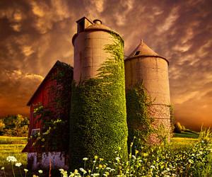 agriculture, blue, and landscape image
