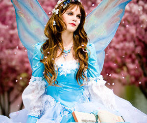blue, woodland creatures, and cosplay image