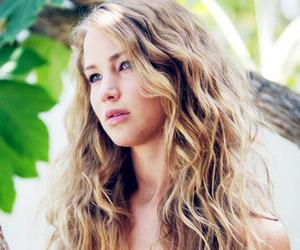 Jennifer Lawrence, beautiful, and hair image