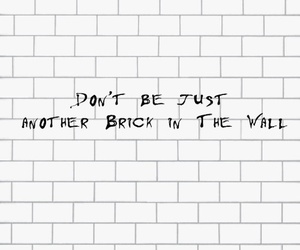 another brick in the wall image