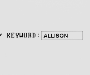 allison, teen wolf, and keyword image