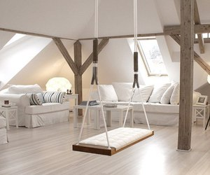 white, home, and swing image