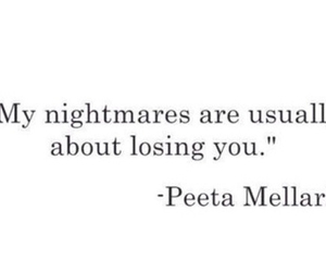 quote, nightmare, and the hunger games image