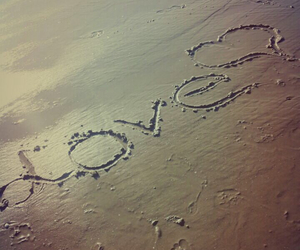 meer, sand, and love image
