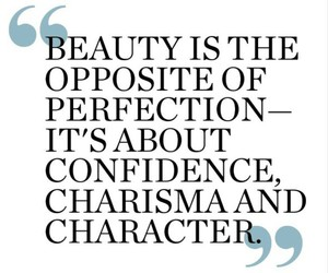 beauty, quotes, and confidence image