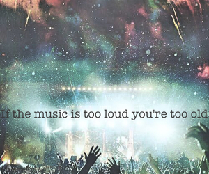 music, edm, and loud image