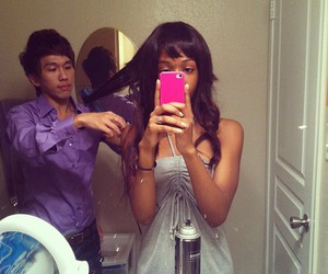 romantic, blasian couple, and love image