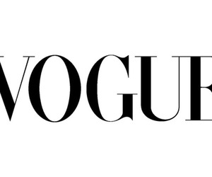 vogue, magazine, and black image