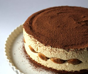 cake, tiramisu, and cheesecake image