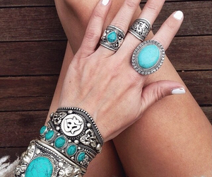 bracelet, fashion, and boho image