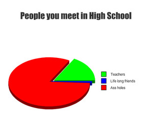 high school, true, and graph image