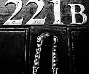 221B Baker Street and sherlock image