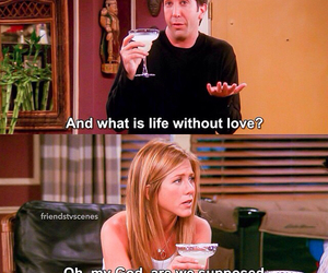 funny, friends, and rachel image
