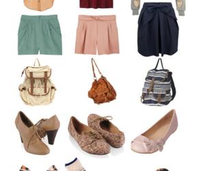 blouse, fall, and fashion image