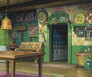studio ghibli and arrietty image