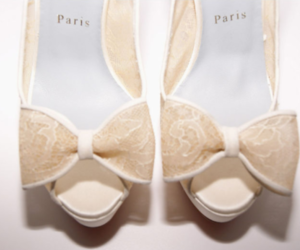 bows, heels, and lace image