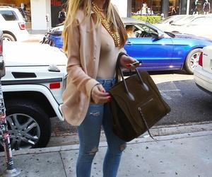 style, khloe kardashian, and kardashian image